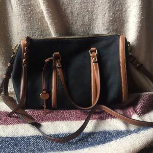 🌼Black FOSSIL Bag!
